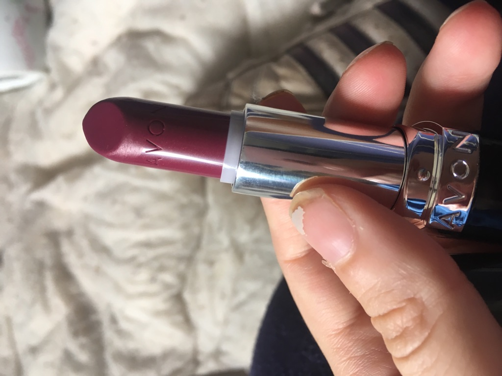 Wine with everything lipstick from Avon