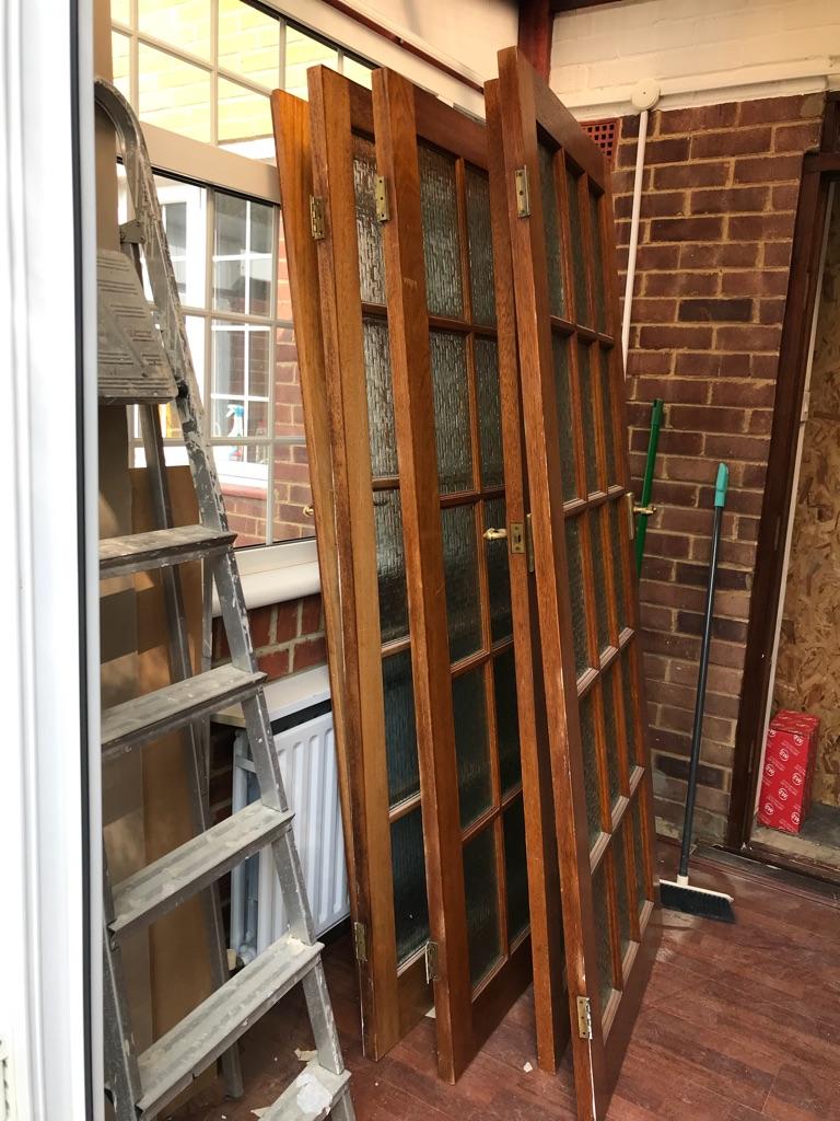 Real wood doors