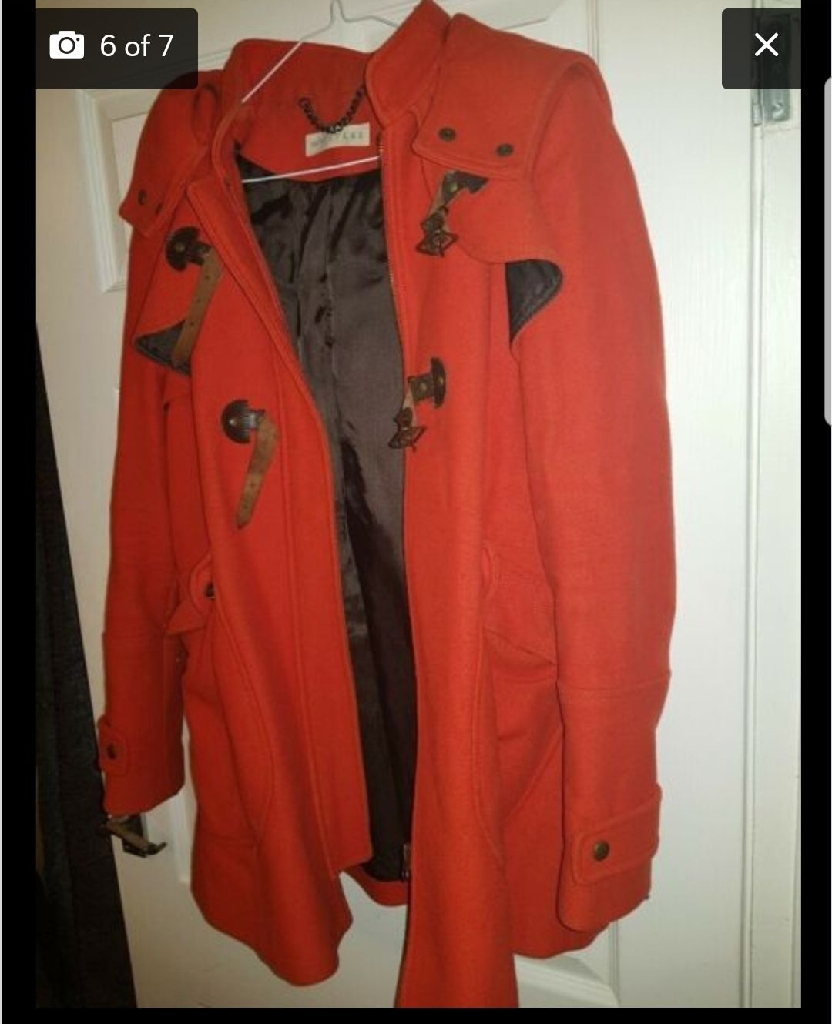 Whistles red coat size 12