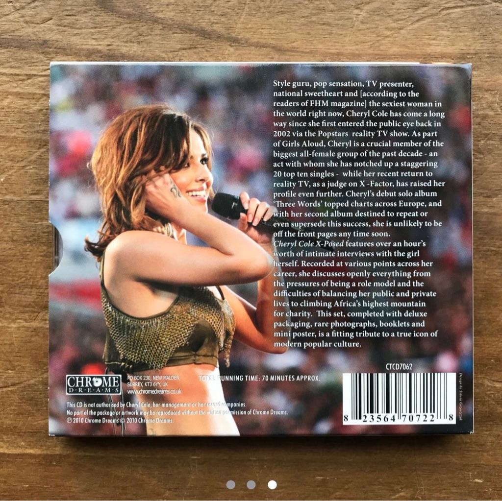 Cheryl Cole x-posed CD