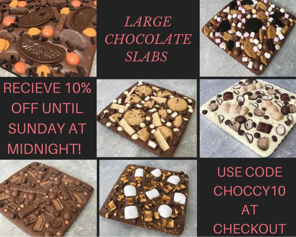 Large Chocolate Slabs 🍫