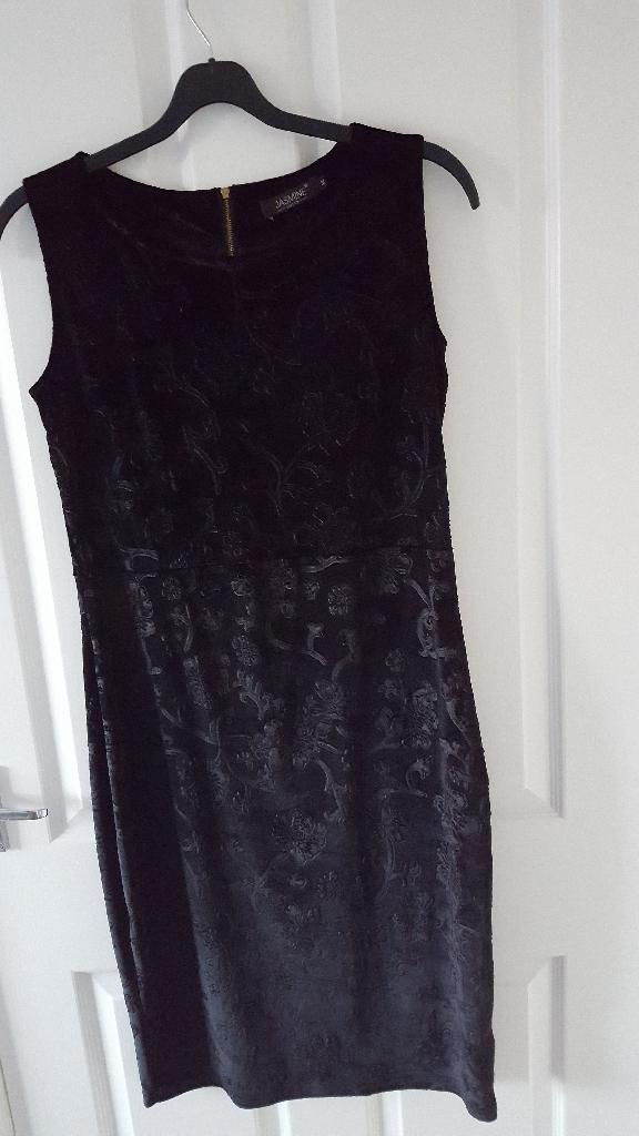 Velor bodycon dress