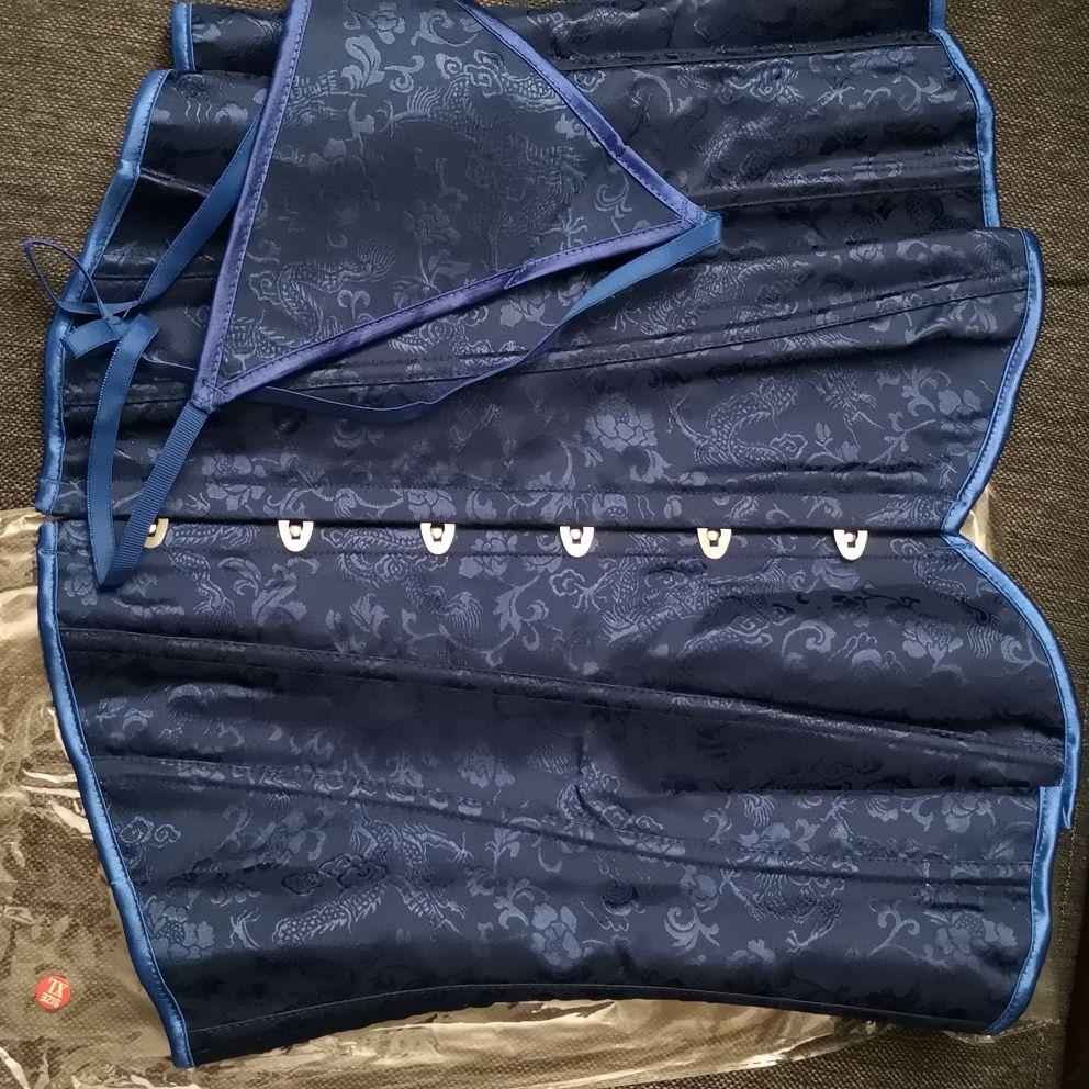 Midnight blue Corset