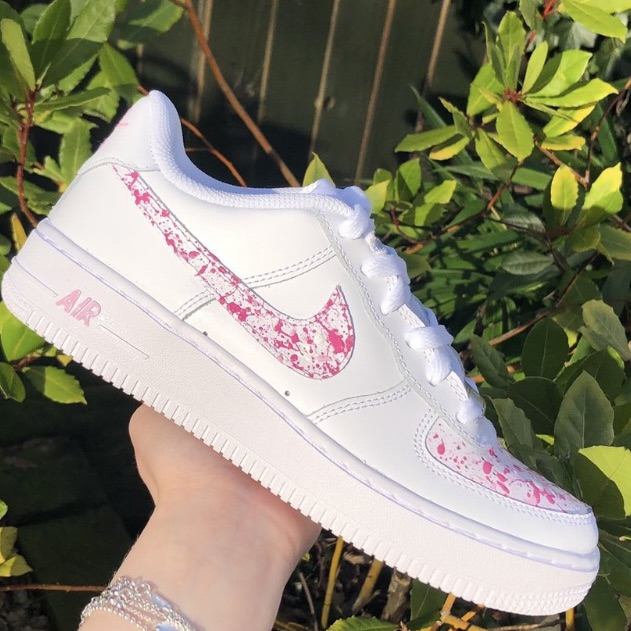 Customised Air Force 1s