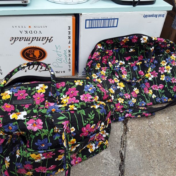 Vera Bradley carry on bag