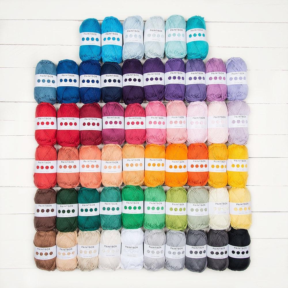 Paintbox Yarns Wool Cotton Aran 56 ball pack