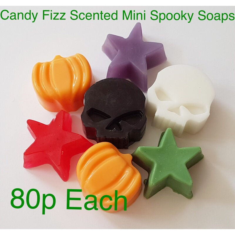 Halloween Bath Bombs / Soaps