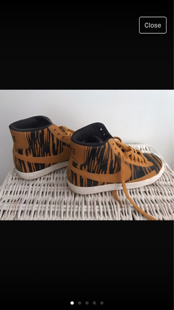 Women's Nike Hightop Trainers