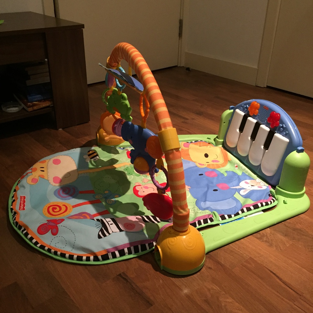 Fisher Price baby piano gym