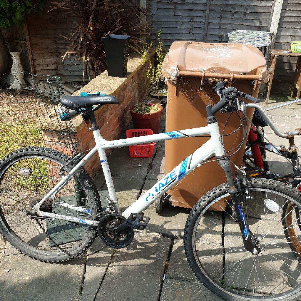 Free bike, needs fixing