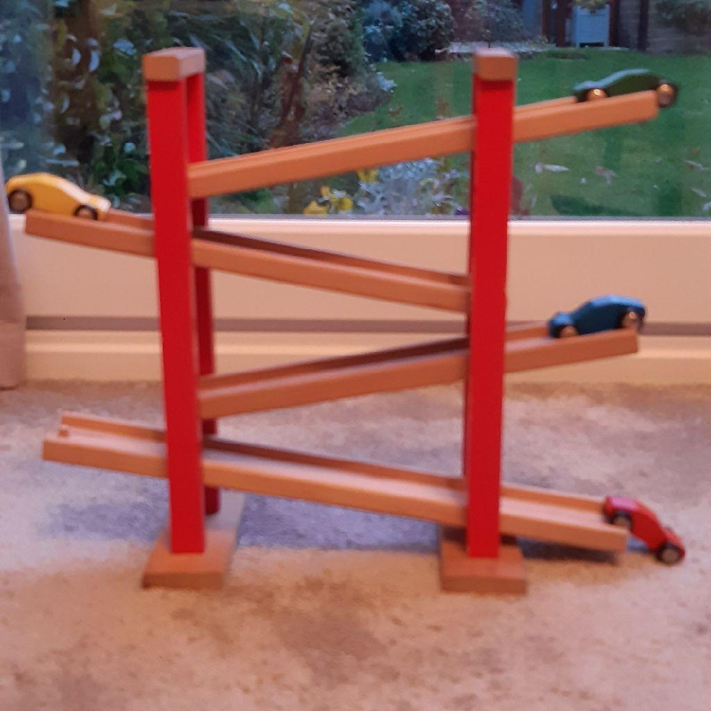 Wooden Click Clack Toy