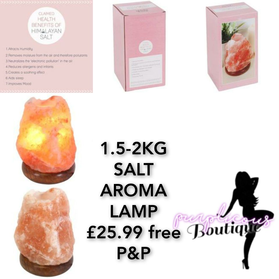 1.5-2KG SALT AROMA LAMP