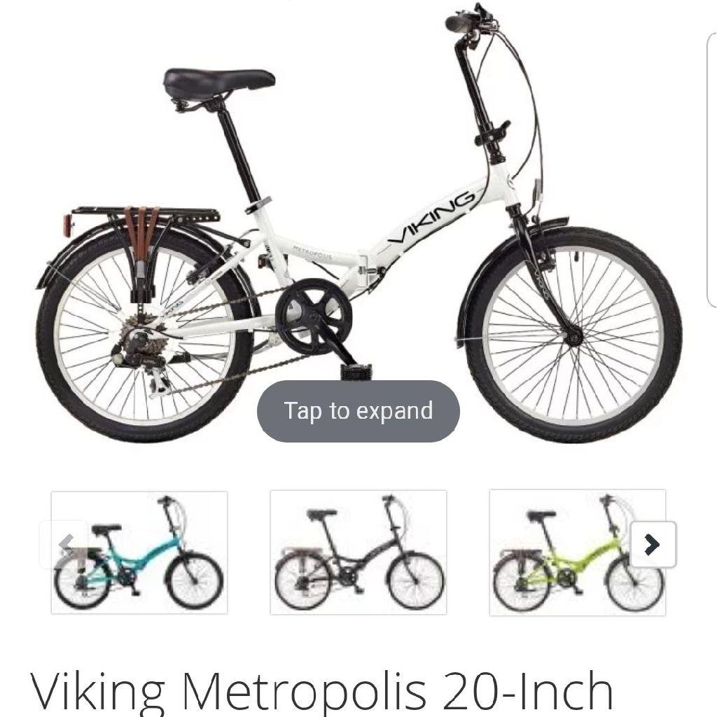 Brand new viking folding bike