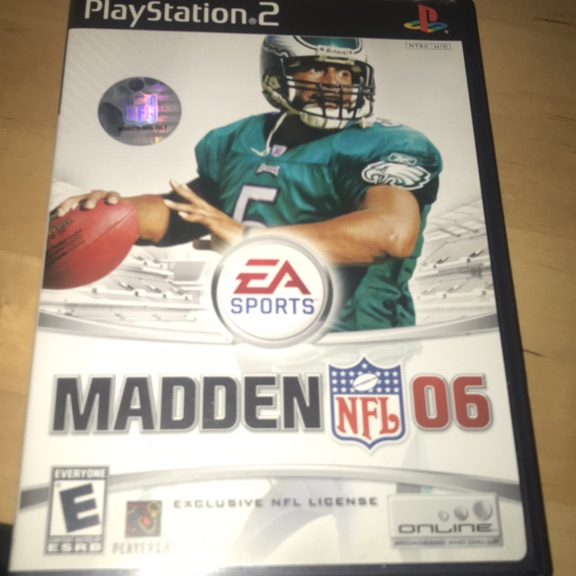 Madden 06 for PlayStation 2