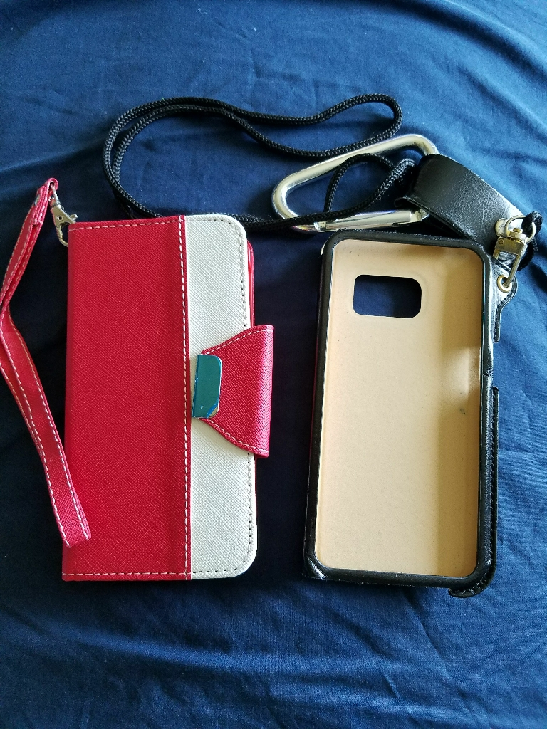 2 Samsung galaxy s6 cases