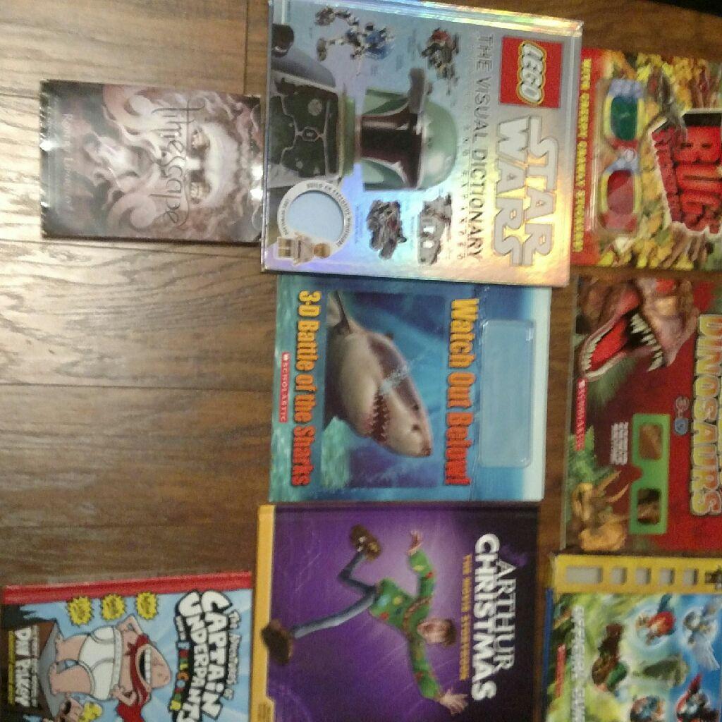 8 books for kids