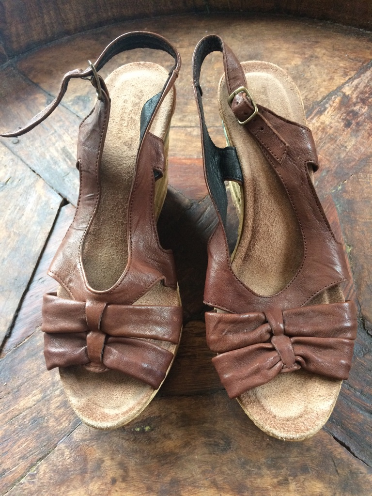 Italian sandals made in Italy size 6/39