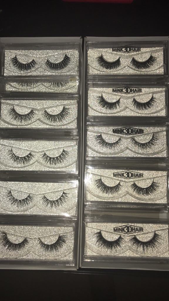 3D & Regular Mink eyelashes