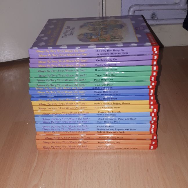 Brand new set of Winnie the Pooh books