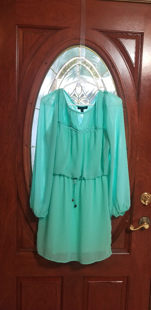 Aquamarine Dress Shirt (Size L) [Jody Christopher]