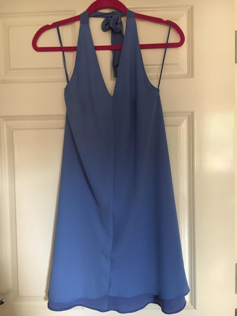 Lilac halter neck dress