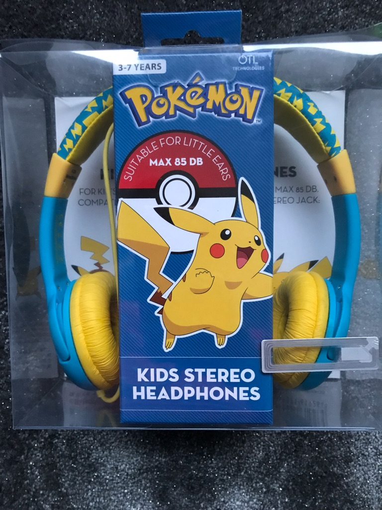 Pokemon kids stereo headphones