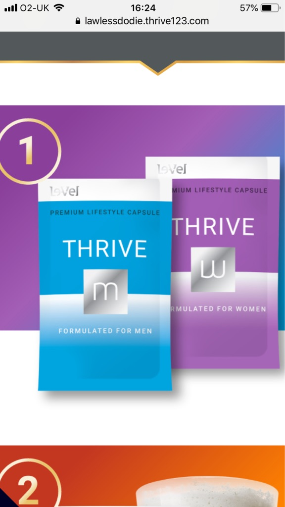 Thrive 8-week experience