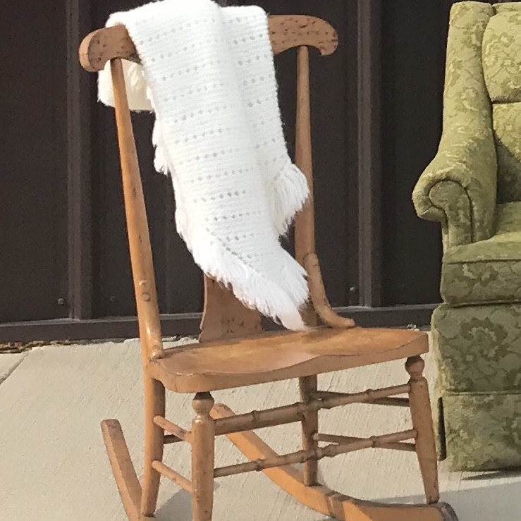 Sewing Chair, Rocker, Antique