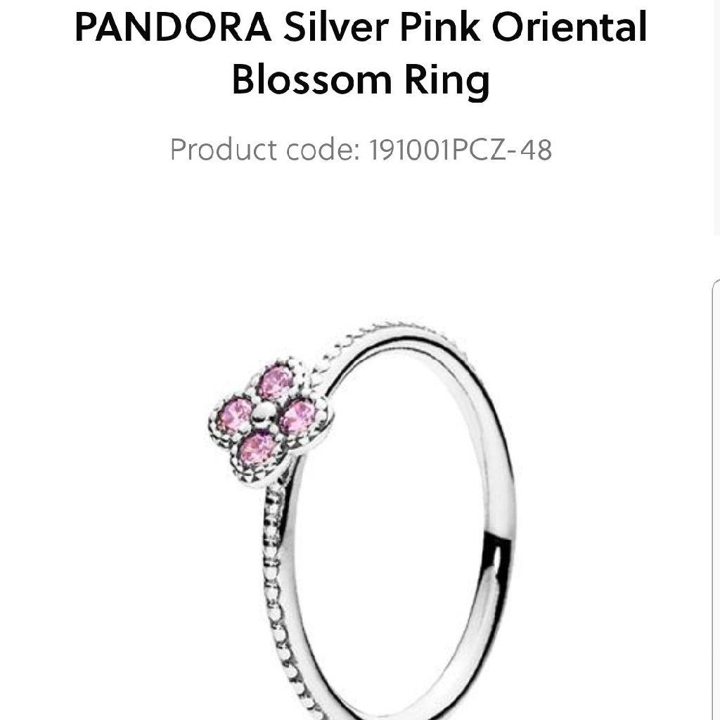 Pandora blossom ring