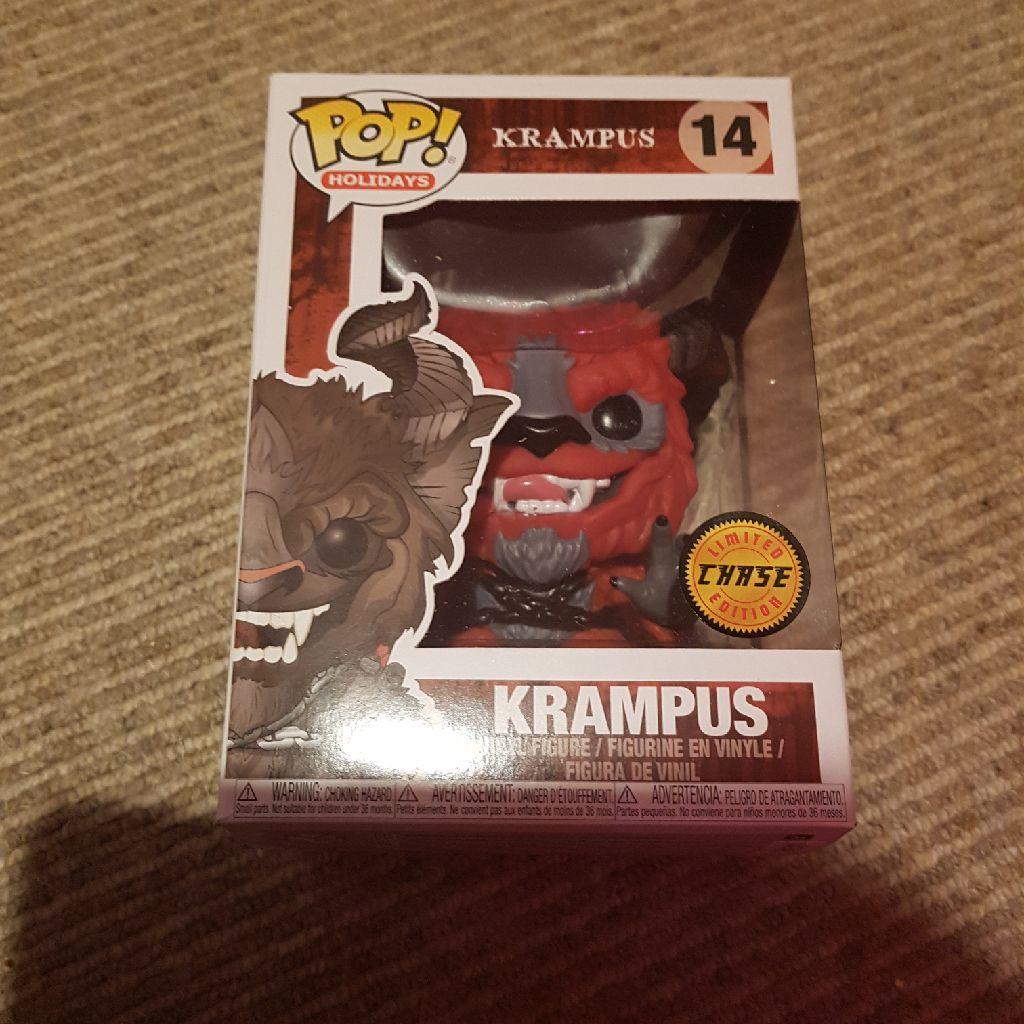 Red chase Krampus Pop Vinyl
