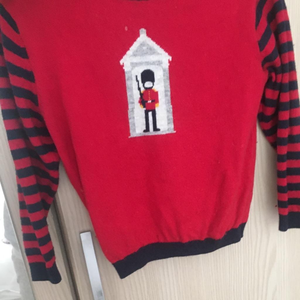 Boys white company sweater