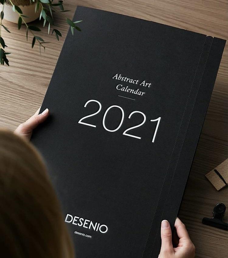 2021 wall art calendar 📆