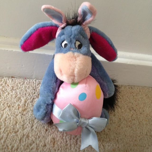 Disney Easter Eeyore Teddy