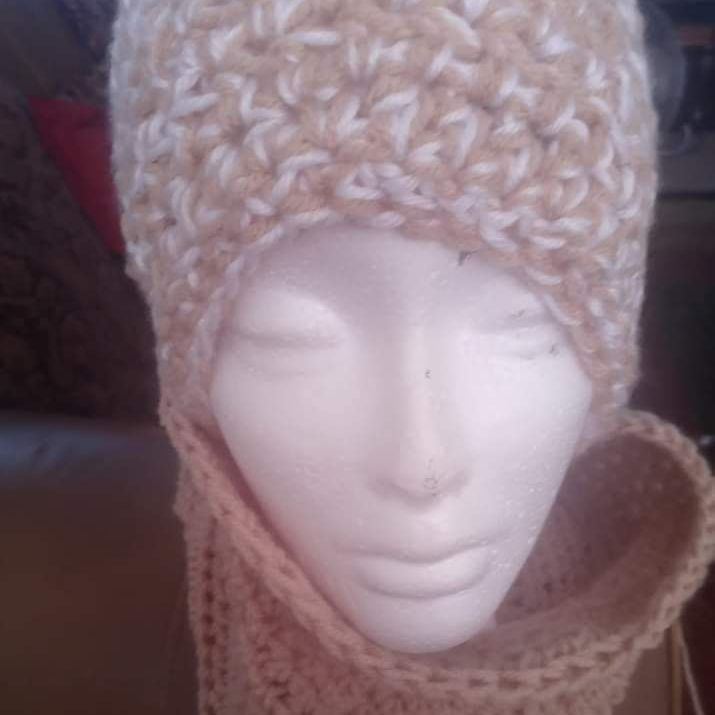 Crochet hat set