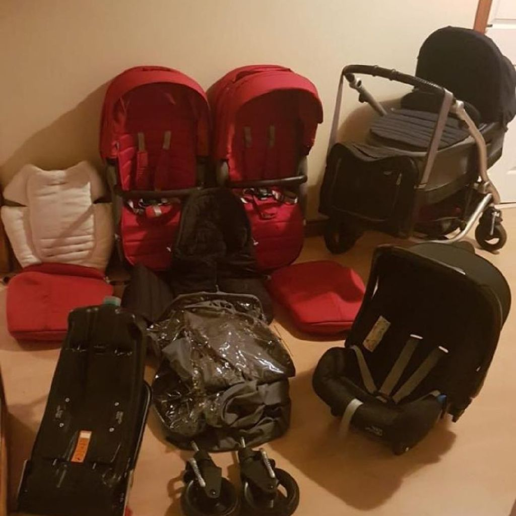 Brittax Affinity Travel System with Isofix