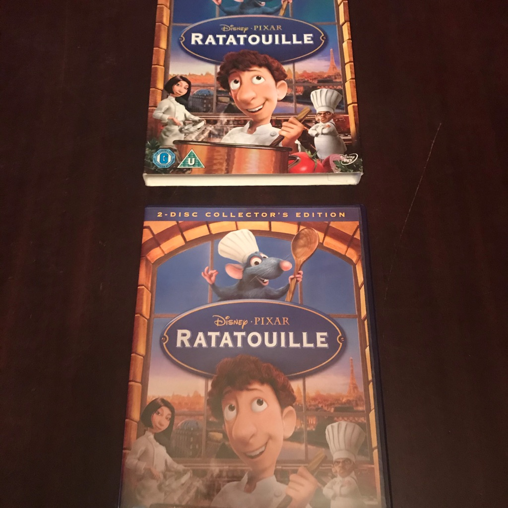 Fantastic Children's Ratatouille Game  and 2 Disc DVD