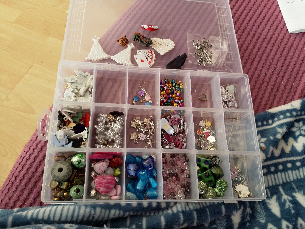 Selection of craft embellishments