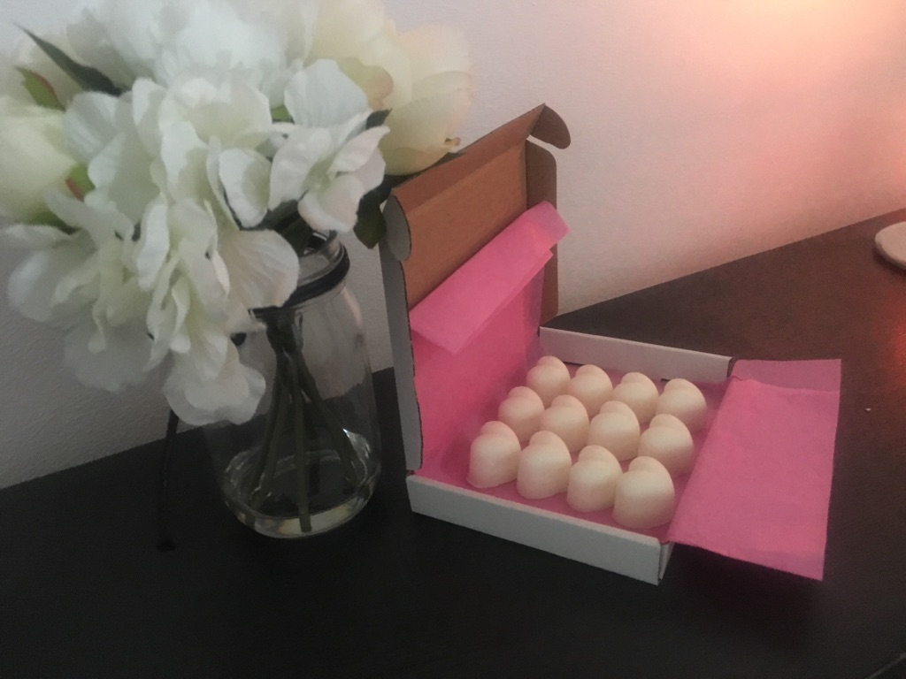 Handmade scented soy wax melts