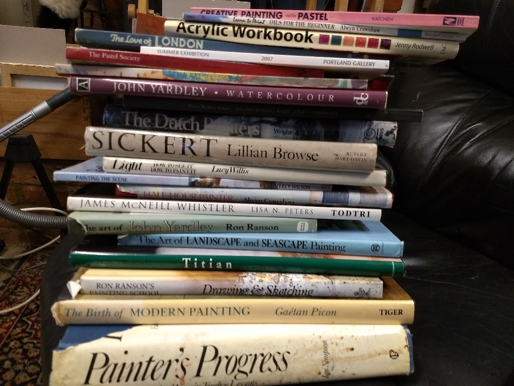 Variety of ART BOOKS From£5orFree