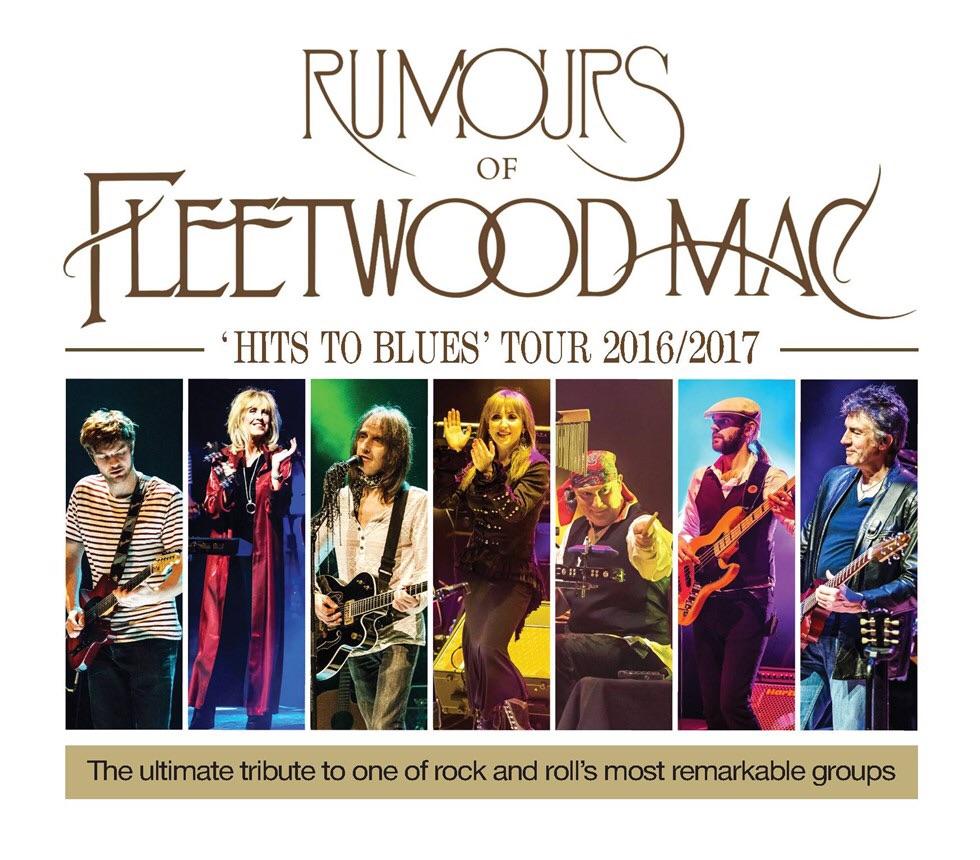 Rumours of Fleetwood Mac 3x tickets