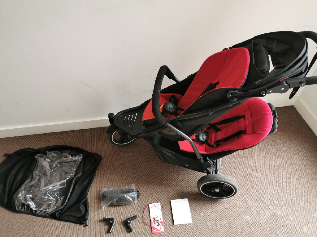 Phil & Ted's Dot v3 double pushchair buggy