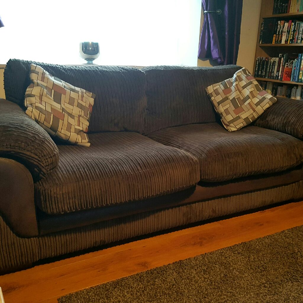 Harvey's Lullabye 3 seater Sofa with matching scatter cushions