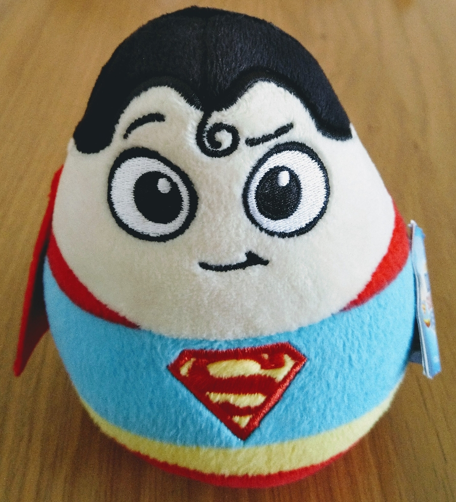 "Brand New 5"" DC Superman Soft Toy"
