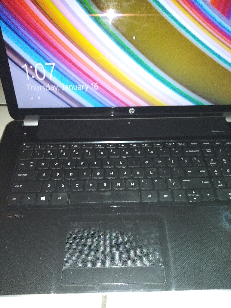 Hp pavillion 17 notebook pc.... Windos 8.1....64 bit OS Model # F9J35UA#ABA6