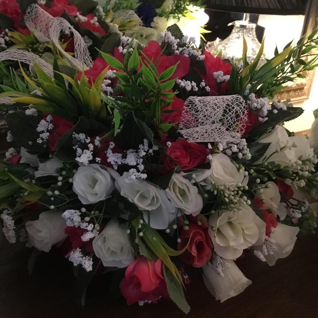 Quality handmade silk floral arrangements