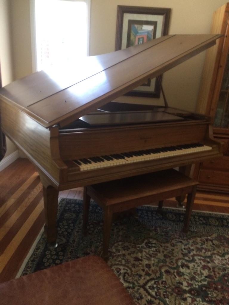 WM Knabe Baby Grand Piano