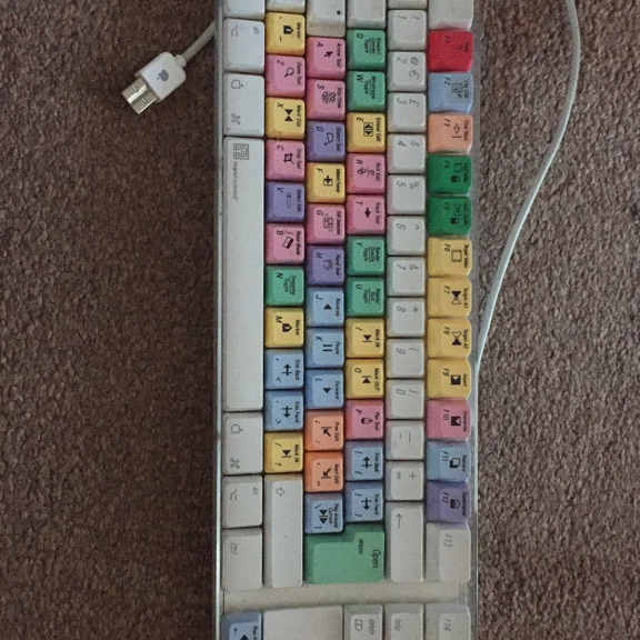 Avid apple keyboard