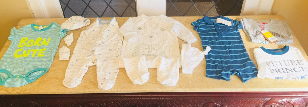 Baby boy clothes bundle 1-9 month