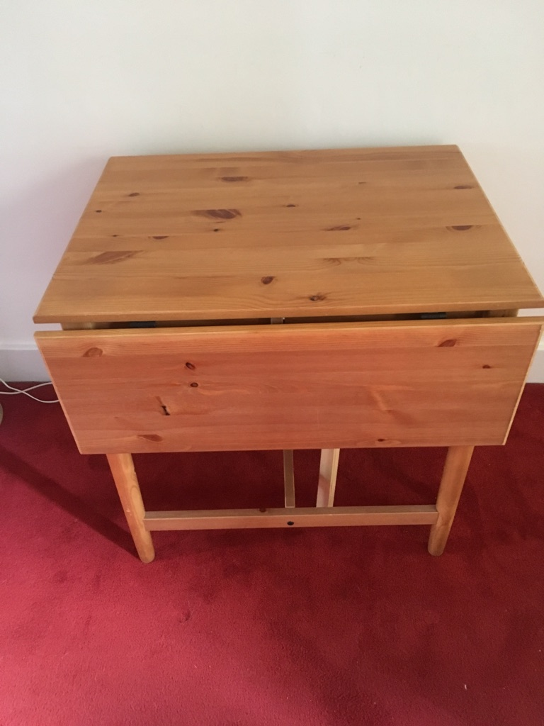 IKEA Drop down leaf dining table