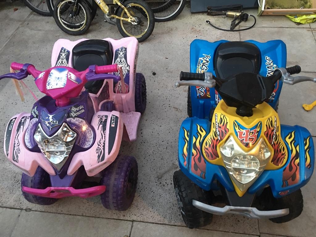 Fever child's quad bikes